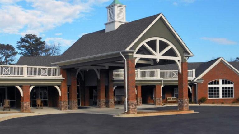 Gaines Park Senior Living | Exterior entrance